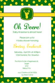 deere baby shower pricing