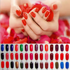 lacquer based solid color semi finished nail polish plain color