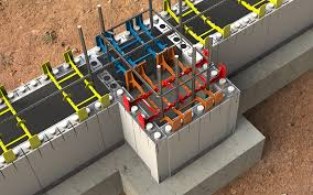3 types of insulated concrete forms icf flat wall waffle grid