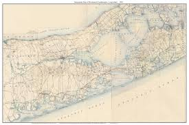 Usgs Quad Maps Old Usgs Topographical Maps Of Long Island New York Large