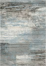 Modern Blue Rug Grey Contemporary Rugs Roselawnlutheran