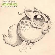 drawn creature strange pencil and in color drawn creature strange
