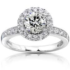 white diamond rings images 14k white gold round pave diamond engagement ring top 5 cash for jpg
