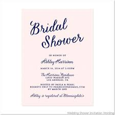 bridal shower invitation template bridal shower invite wording badbrya