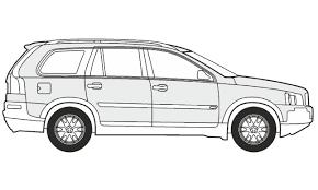 volvo minivan how to draw a volvo xc90 как нарисовать volvo xc90 youtube