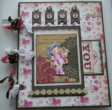 handmade scrapbook albums ooak handmade teddy baby birthday scrapbook photo memory albums