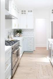 kitchen cabinets white top gray bottom white top cabinets and light gray bottom cabinets