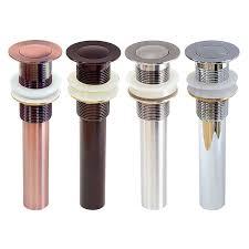 Antique Copper Kitchen Faucets Freuer Faucets Pop Up Non Overflow Bathroom Vessel Sink Drain