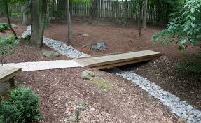 backyard drainage ditch backyard landscaping photo gallery