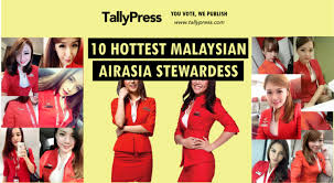 airasia uniform fly gosh 10 hottest malaysian airasia stewardesses