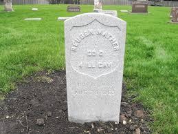 cemetery headstones new headstones honor 2 civil war vets at wheatland cemetery