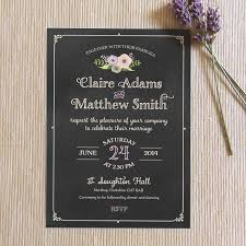 Chalkboard Wedding Invitations 5 Of The Best Chalkboard Wedding Invites U2013 Paper Bride Blog