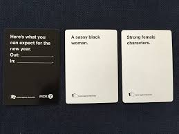 cards against humanity near me feminists play cards against humanity and let s just say the