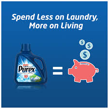 purex liquid laundry detergent mountain breeze 300 fluid ounces