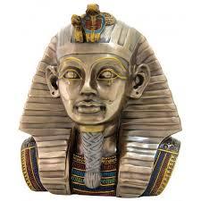 king tut egyptian pharaoh 8 inch bust statue ancient egypt