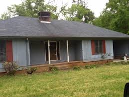 exterior paint colors for a blue roof