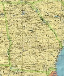 United States Map Major Cities by Georgia Outline Maps And Map Links