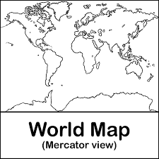 awesome coloring page world map 93 7819