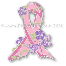 collection of 25 with pink breast cancer ribbon design