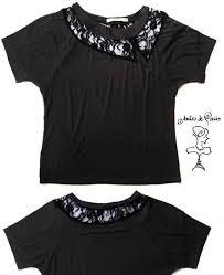 Conhecido Camisetas Customizadas com Renda | Renata Tufano @AQ79