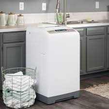Kenmore Portable Dishwasher 665 Faucet Adapter by Magic Chef 1 6 Cu Ft Topload Compact Washer White Walmart Com