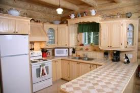 cuisine au bois renard au chalet en bois rond cottages apartments tourist