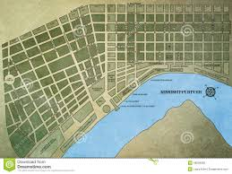 New Orlean Map by New Orleans Map Stock Photo Image 48536058