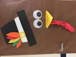 kindergarten classroom thanksgiving turkey door