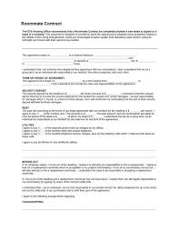 free roommate agreement template roomate contract gse bookbinder co