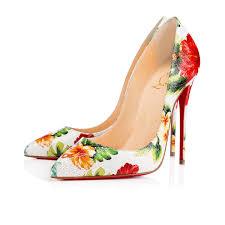 christian louboutin white satin shoes christian louboutin fifi