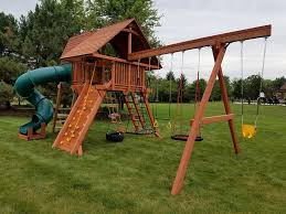 Backyard Adventures Reviews Woodplay Playsets Swing Sets And Playhouse In Indianapolis