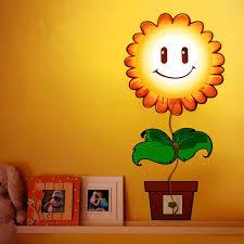 3d diy sunflower led wallpaper light wall sticker removable lamp 3d diy sunflower led wallpaper light wall sticker removable lamp kid bedroom