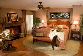 warm bedroom color schemes and luxurious romantic retreat master