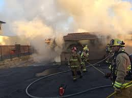 garage fire behind escondido mortuary prompts investigation