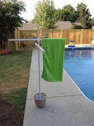 pvc pool towel rack plans pvc towel rack plans home design vi