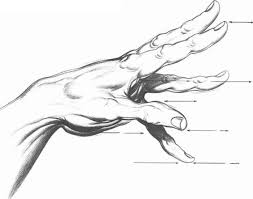 parallel projection drawing hands joshua nava arts