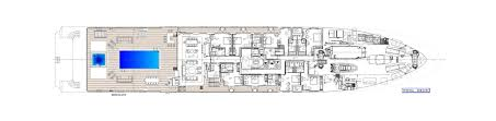 Mega Yacht Floor Plans by Ulysses Yacht Official Website Specifications