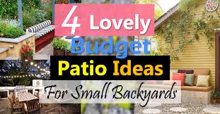 4 lovely budget patio ideas for small backyards balcony garden web