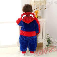 Spiderman Toddler Halloween Costume Baby Spider Man Baby Kigurumi Onesies Pajamas Costumes Toddler Pajamas
