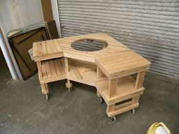 Woodworking Plans Kitchen Nook by Big Green Egg Table Plans Woodworking Table Plans Wood Shop