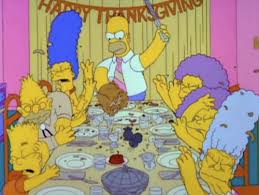 where did that come from thanksgiving rebootthe simpsons tapped