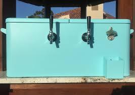 jockey box rental metal faucet jockey box turquoise blue bottoms up draft co