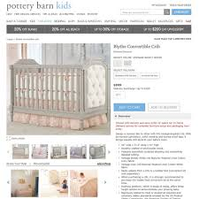 Off White Baby Crib by Every Baby Can Be A Model Wsj