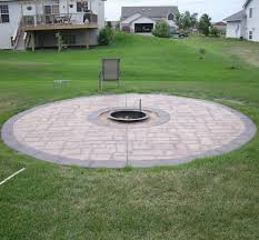 Concrete Firepits Concrete Barbecues Pit Contractor Lombard Il Dupage County