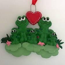 general animals frogs treasured ornaments