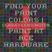 ace hardware paint colors clark kensington color chart color schemes pinterest colour