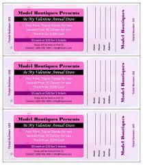 raffle tickets 15 free raffle ticket templates in microsoft word mail merge