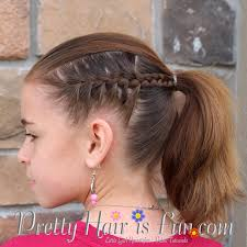 cute girl hairstyles how to french braid girl s hairstyles racer stripe braids pretty hair is fun girls