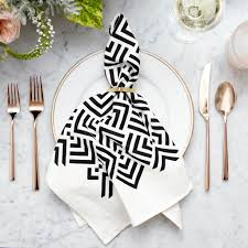 zadar tea towel modern geometric home decor savannah hayes