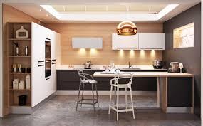 chaise haute de cuisine design cuisine design sans poignée fabrimeuble fabrication française